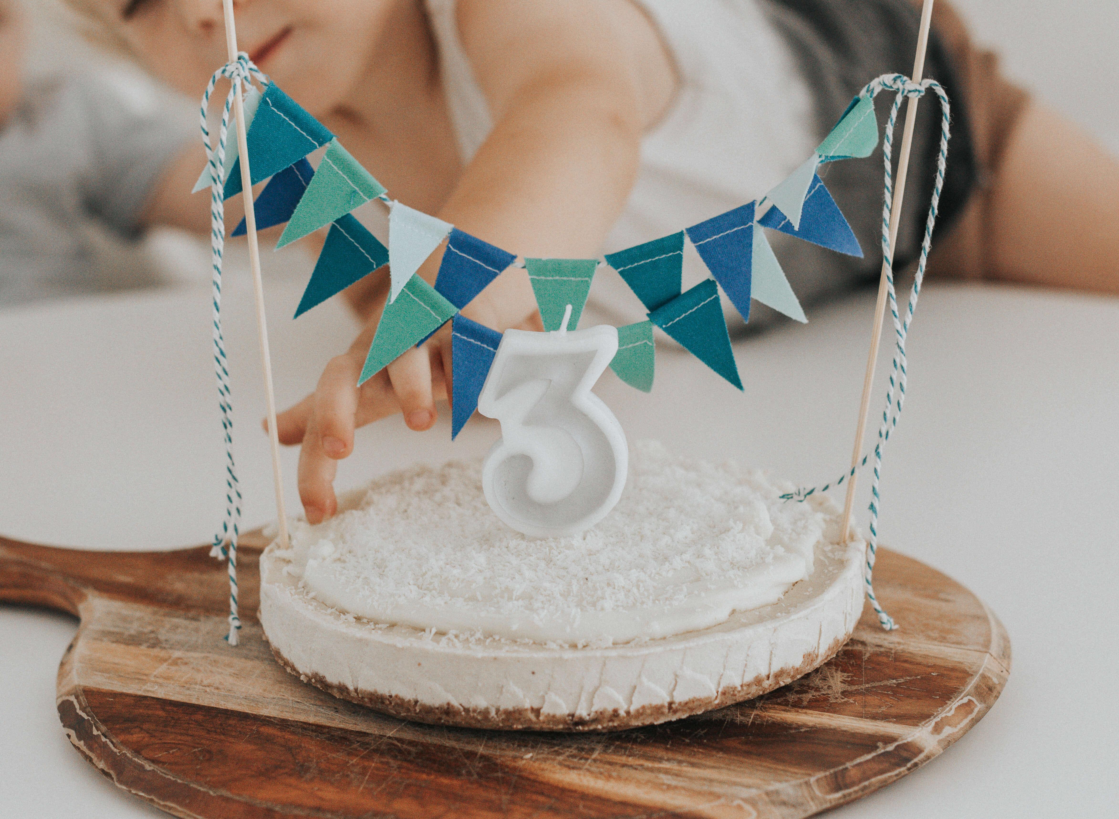 Raw Birthday Cake